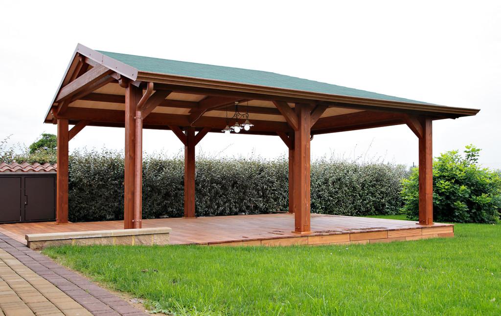 Legnostrutture strutture in legno case in legno tetti in legno for Progetto gazebo in legno pdf